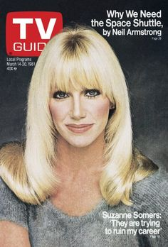 TV Guide March 1981 - Suzanne Somers of Three's Company. Jet Magazine, Cool Magazine, Magazine Covers, Time Magazine, Suzanne Somers, History Of Television, Vintage Television, Great Tv Shows, Old Tv Shows