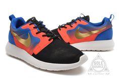 "Custom Nike Roshe Run Hyperfuse ""Mercurial"" Pink/Blue | Kixify Marketplace"