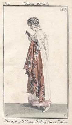 Reading, 1809 Costume parisien