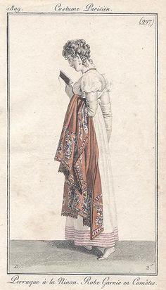 Reading, 1809 Costume parisien