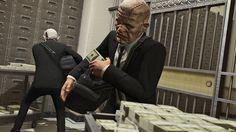 Akcja w Pacific Standard w GTA Online