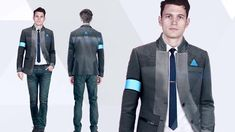 Detroit Become Human Connor concept art