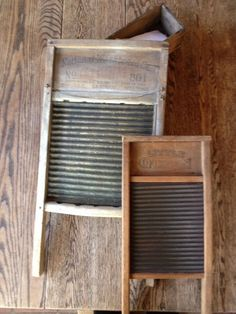 Old Washboards