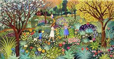 Our Magic Flower Garden by Veronica Labat