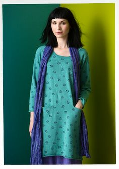 """Tusensköna"" linen/cotton tunic – Blouses & waistcoats – GUDRUN SJÖDÉN – Webshop, mail order and boutiques 