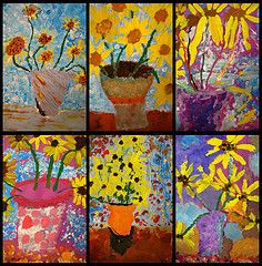 van gogh sunflowers - ooh these are fabulous