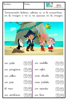 Spanish Reading Comprehension Passages and Questions: The Set {En Español} Learning Spanish For Kids, Teaching Spanish, Montessori Activities, Kindergarten Activities, Learning Sight Words, Elementary Spanish, How To Speak Spanish, Learn Spanish, Classroom Language