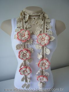 Absolutely beautiful crochet scarves