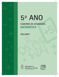 5o ANO CADERNO DE ATIVIDADES MATEMÁTICA VOLUME I