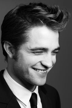 Robert Pattinson, never a bad hair day.