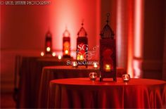 Diwali party tablescape