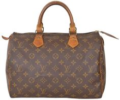 Louis Vuitton Monogram Vintage Speedy 30 Boston Style M41526 Brown Satchel. Save 63% on the Louis Vuitton Monogram Vintage Speedy 30 Boston Style M41526 Brown Satchel! This satchel is a top 10 member favorite on Tradesy. See how much you can save