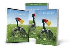 """Unglued Making Wise Choices in the Midst of Raw Emotions. Amazing eye opener if you have moments of coming """"Unglued"""" toward people. Working through this as my version of a quite time or daily devotional."""