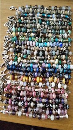 My Trollbeads collection, so far! Kan niet geloven dat iemand zoveel beads heeft!!