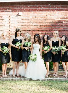 Sarah let her bridesmaids pick out their own dresses - as long as ...
