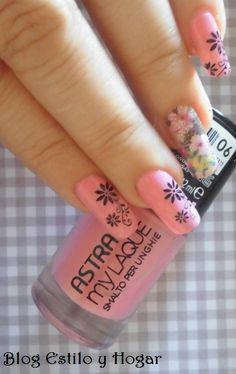 Manicura #Astra http://estilo-y-hogar.blogspot.com.es/2015/02/manicura-en-rosa-esperando-la-primavera.html
