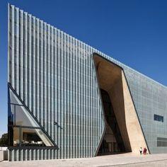 Museum of the History of Polish Jews  by Lahdelma & Mahlamäki Architects http://www.dezeen.com/2013/10/03/museum-of-the-history-of-polish-jews-by-lahdelma-mahlamaki-architects/
