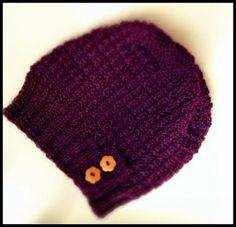 strikket lue oppskrift - Google-søk