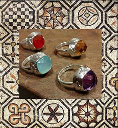 RING SILVER LUCI MENDOLA COLLECTION MOSAICA