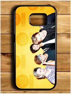 5 Second Of Summer Samsung Galaxy S6 Edge Case