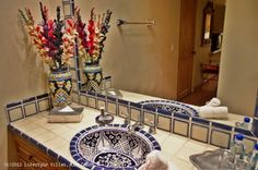 mexican style bathrooms | beautiful mexican hacienda style home in cabo del sol casa stamm 4 bed ...