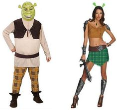 Pointlessly Gendered Shrek Costume (click thru for more Halloween examples) Costumes Sexy Halloween, Shrek Costume, Gender Binary, Intersectional Feminism, Human Rights, Female, Boys, Girls, Lady