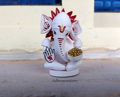 Quilled 3d Ganesha