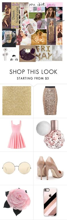 """Happy birthday my beautiful goddess!"" by creative-with-fashion ❤ liked on Polyvore featuring French Connection, Victoria Beckham, Rupert Sanderson, Chanel and Casetify"