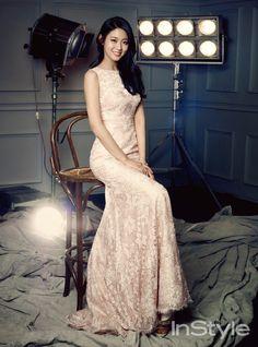 AOA's Seol-hyun // InStyle Korea