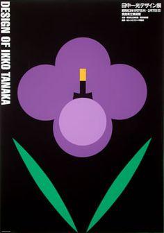 Tanaka, Ikko poster: Design of Ikko Tanaka