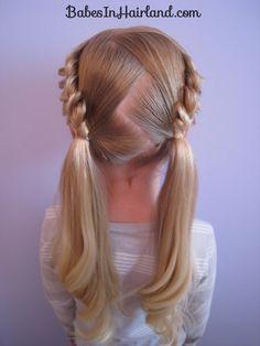 cute little girl hair;