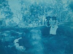 Unknown Untitled c. 1900 Cyanotype print Monash Gallery of Art, City of Monash Collection Acquired 2012