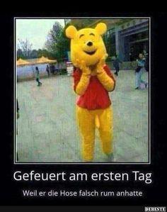 Gefeuert am ersten Tag..   DEBESTE.de, Lustige Bilder, Sprüche, Witze und Videos
