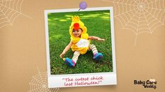 Halloween is not over until we say it is! Look at this cute chick, Baby Liv! Baby Liv's picture was the most liked picture for our Halloween topic. Get your baby and your story featured by sending us a message, or by replying to this post. #babycare