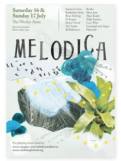 Melodica Music Poster.  Luci Everett.