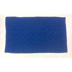Reversible Double Ruila Cotton Mat - Dark Blue (50cm x 80cm) - Mode Alive - Home Decor Heaven