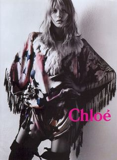 TBT   Chloes Hippie Chic Fall 2003 Ads with Angela Lindvall