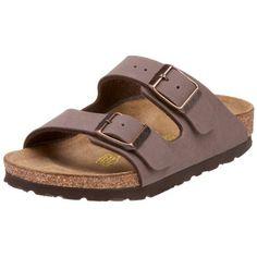 BIRKENSTOCK - Sandale blanche en cuir écologique, semelle intérieure en liège, enfant (garçon ou fille), adulte (homme ou femme)-24
