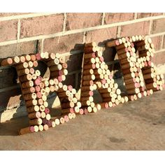 Upcycled Wine Cork BAR by Hammer & Paint