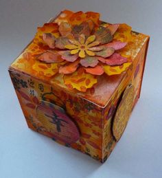 Chinese New Year Artist Trading Block by Deborah | That's Blogging Crafty!