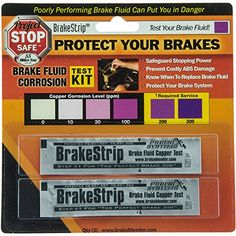 Phoenix Systems 3003B Brake Fluid Test Strips 2 Strips Per Package Reveals Brake Fluid Condition -- Check out this great product.