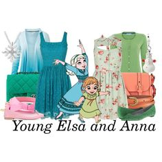 A fashion look from March 2014 featuring green chiffon dress, lace overlay dress and cuff shirts. Browse and shop related looks. Disney Inspired Outfits, Themed Outfits, Disney Outfits, Disney Style, Cute Outfits, Disney Clothes, Frozen Fashion, Disney Fashion, Asian Fashion