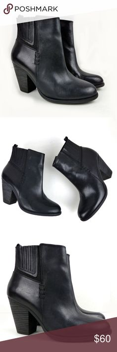 Spotted while shopping on Poshmark: Vince Camuto Highland Black Chelsea Ankle Bootie! #poshmark #fashion #shopping #style #Vince Camuto #Shoes