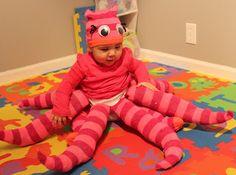 DIY Octopus costume for Halloween!