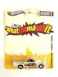 Hot Wheels Mattel 2011 Hershey's What cha Ma call it '63 Studebaker Champ 1:64 Die Cast Truck
