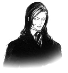 Genya Arikado Sketch from Castlevania: Aria of Sorrow
