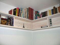 DIY Bookshelves | July 24, 2013 DIY Corner Wall Bookshelves. Knowing the Types of ...