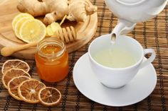 Relieve morning stiffness, pain and inflammation with GINGER!! | The Natural Ways I love my ginger tea!  Helps with tummy troubles too!