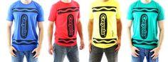 Crayola Crayon Adult Costume T-shirt (bestseller)