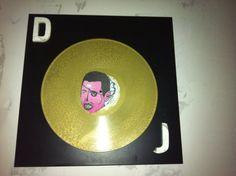 Dj art gold vinyl